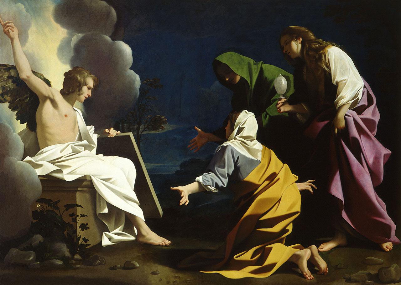 Le Marie al Sepolcro