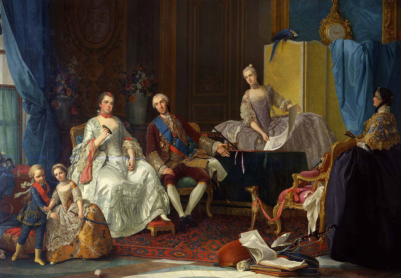 Famiglia di Don Filippo di Borbone