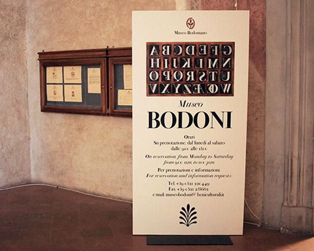 Ingresso Museo Bodoni
