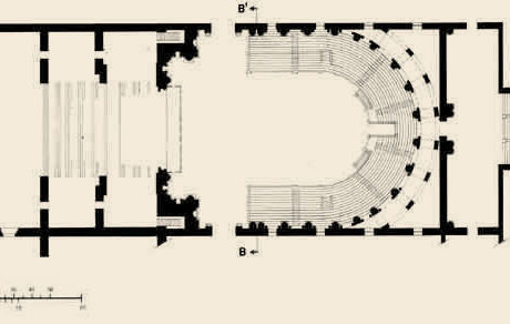Ike Kligerman Barkley Floor Plan. In 1966 the Teatro Farnese