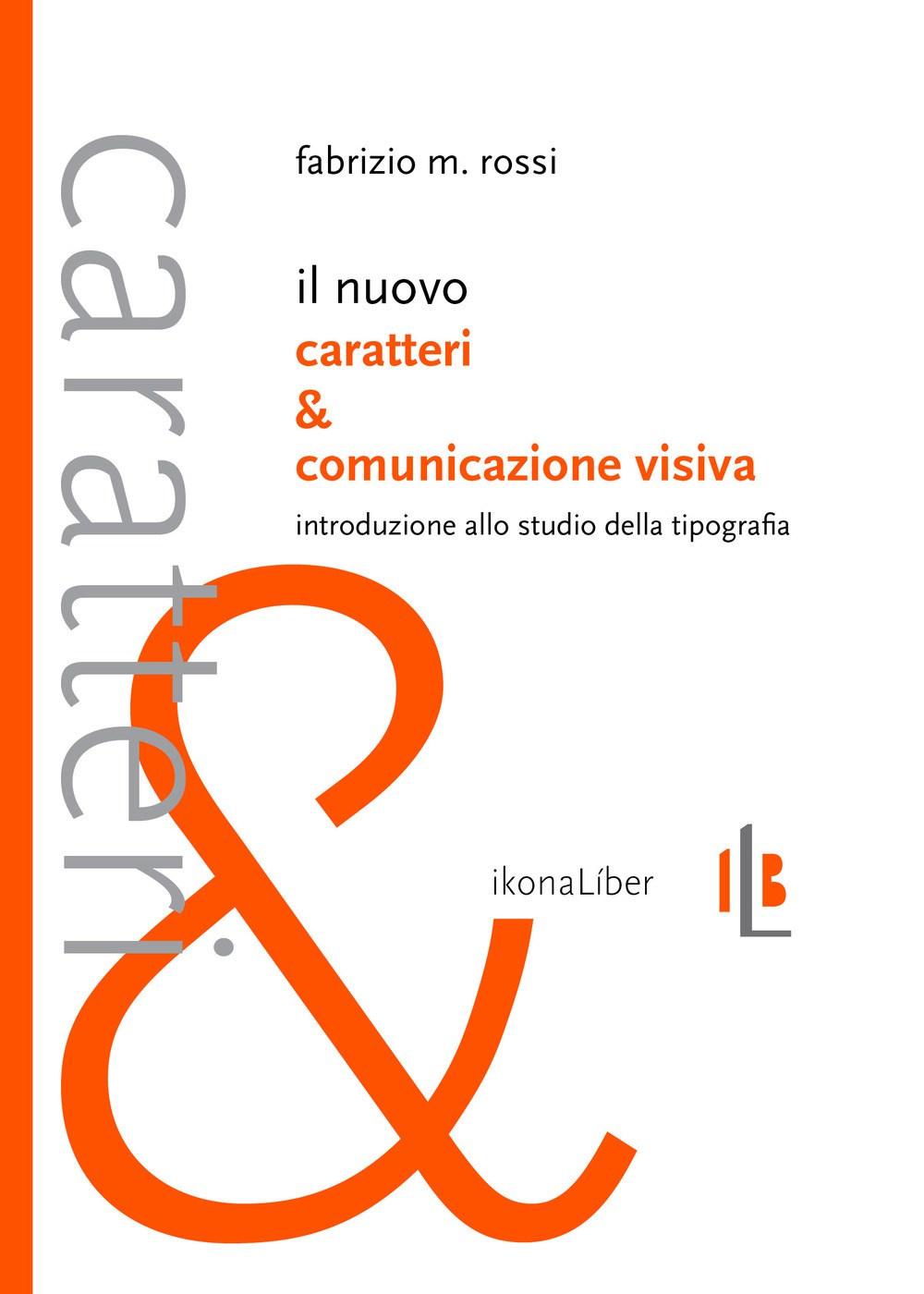 Il nuovo carateri e comunicazione visiva, Cover