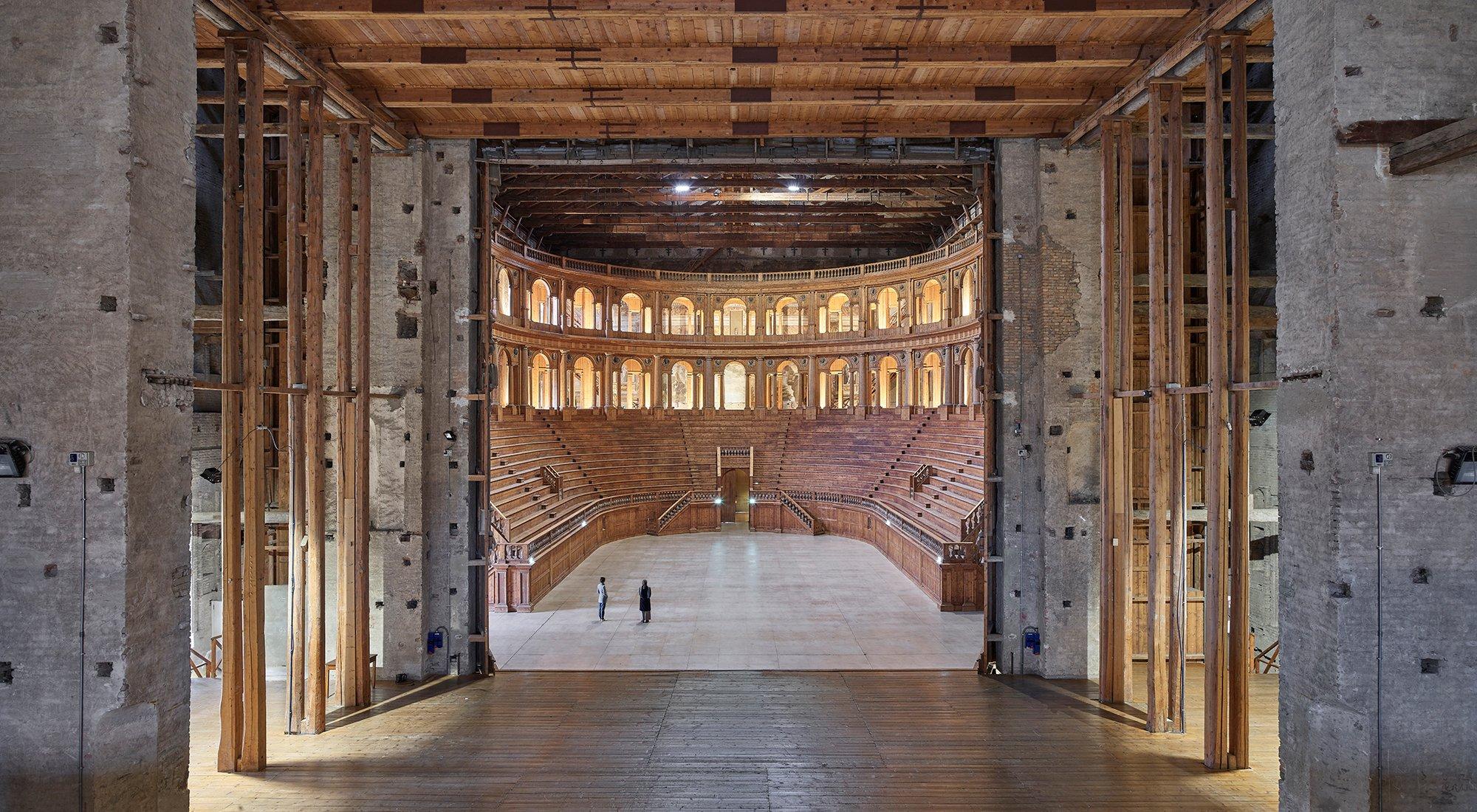 immagine per Teatro Farnese ph. Giovanni Hänninen