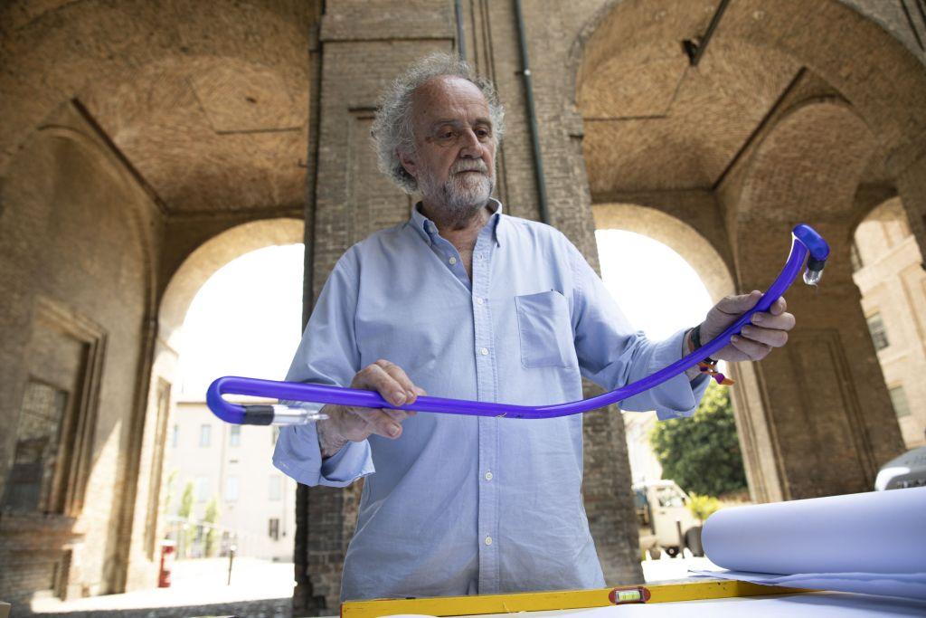 Maurizio Nannucci ©foto di Annarita Melegari