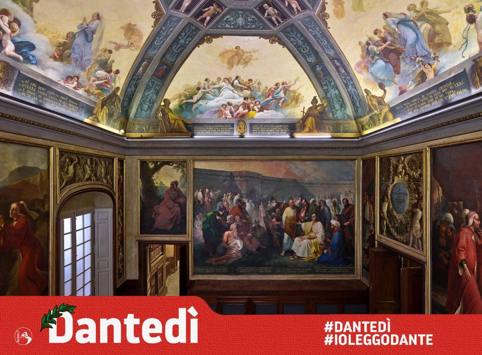 #Dantedì al Complesso della Pilotta