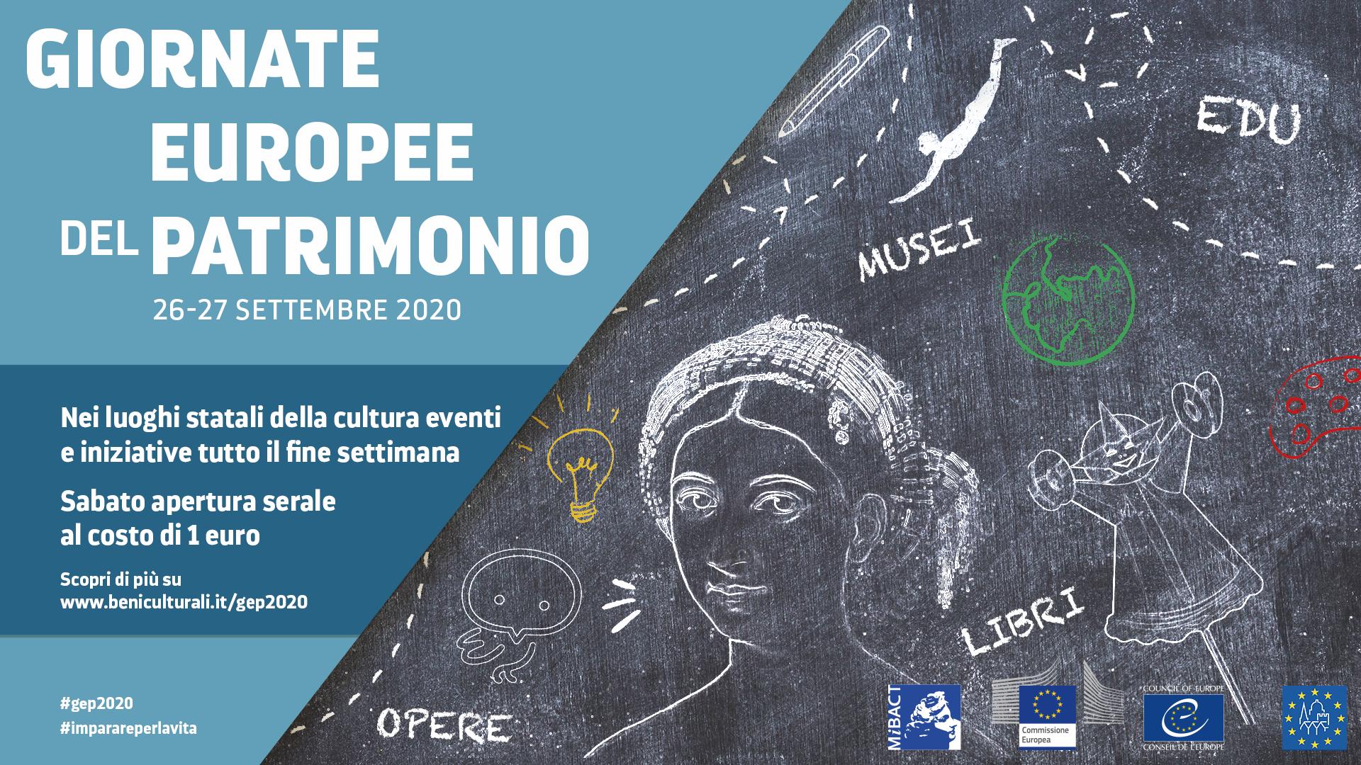 immagine per Giornate Europee del Patrimonio 2020