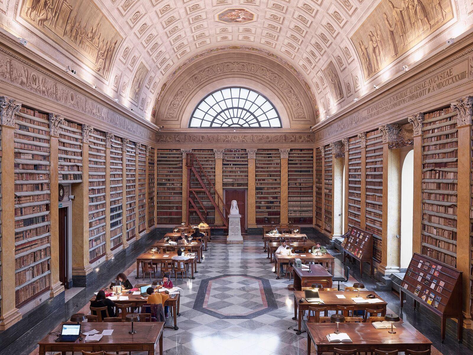 immagine per Biblioteca Palatina, Salone Maria Luigia. Ph. Giovanni Hanninen
