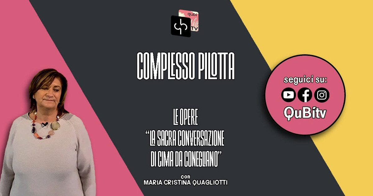 immagine per Le opere, La Sacra Conversazione di Cima da Conegliano, Maria Cristina Quagliotti