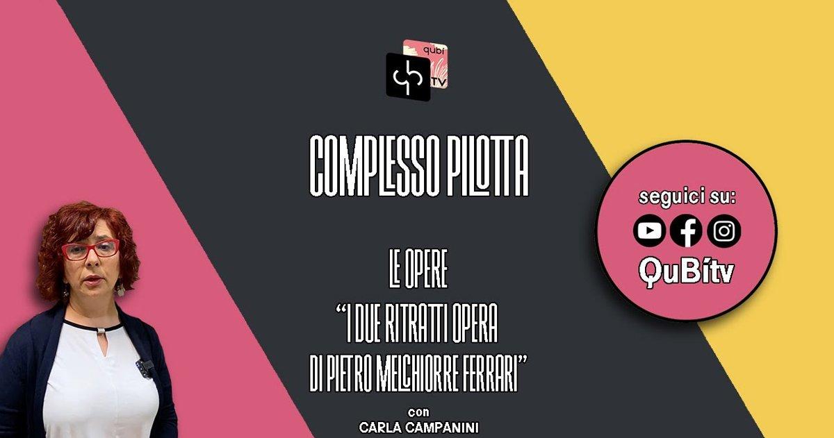 immagine per Le opere, I due ritratti opera di Pietro Melchiorre Ferrari, Carla Campanini