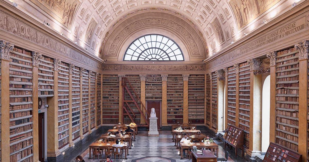 immaagine per Avviso parziale interruzione servizio di distribuzione della Biblioteca Palatina