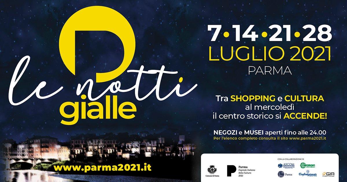 """immagine per Il Complesso monumentale della Pilotta aderisce all'iniziativa """"Notti gialle"""""""